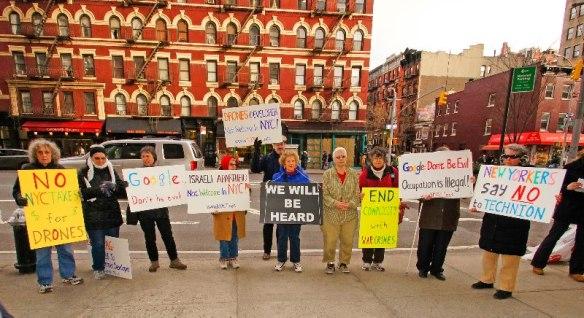 Google protest March 26 2013 photo