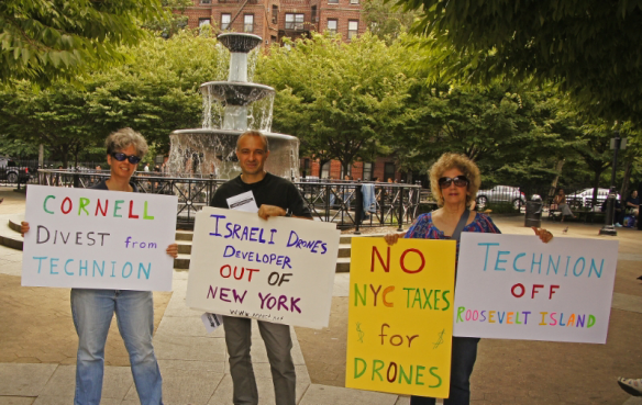 photo - NYACT - Father Demo Sq - July 27 2013