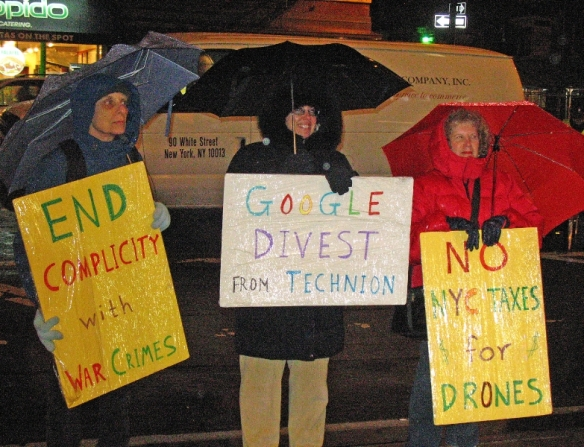 photo - Google protest Nov 26 2013