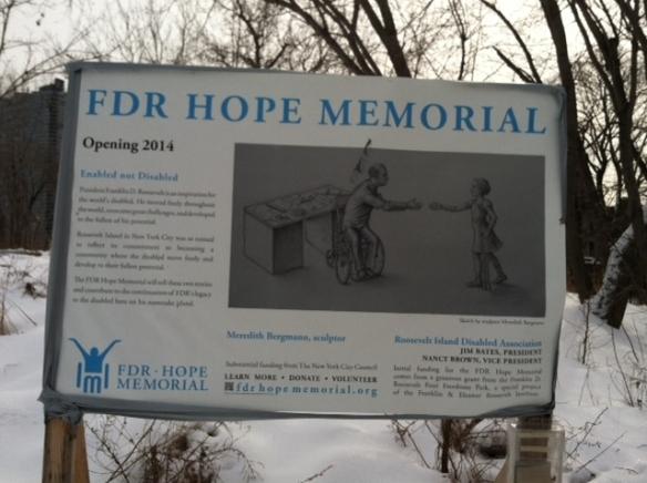 Roosevelt Island FDR Hope Memorial photo